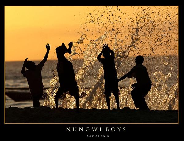 Nungwi Boys by RobDougall