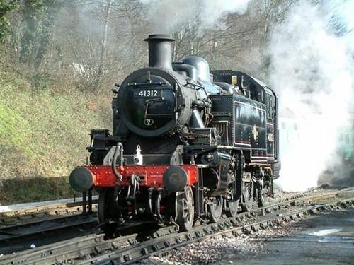 Ivatt tank loco by PaulBeeTee