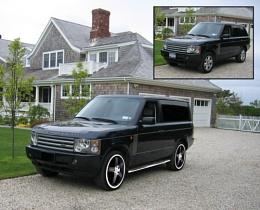 2007 Range Rover Van