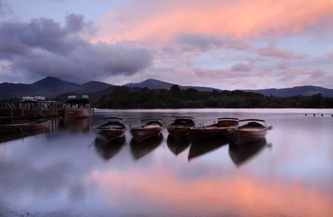 Morning, Derwentwater by Nadia