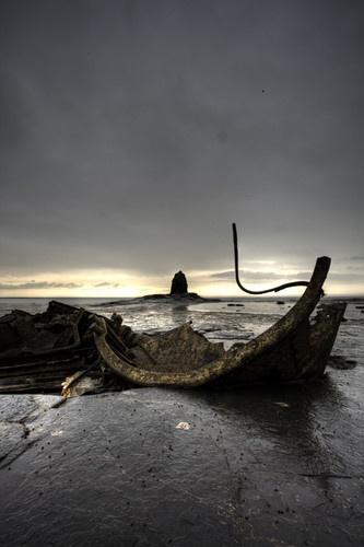 Saltwick Wreck by Tandberg