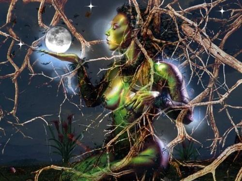 Tree Spirit by Paree