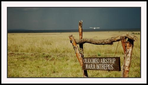 Mara Intrepids Airstrip by GeePanesar