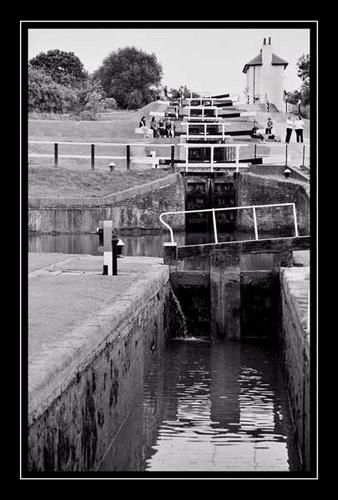 Foxton Locks by Apollo