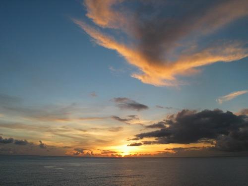Sunset by JurassicSpark