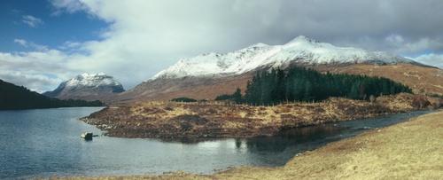 Torridon Mountains Panoramic by AidanT