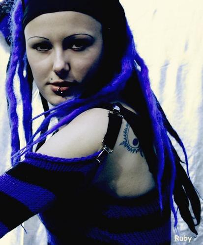 BLUE by Rubytrue