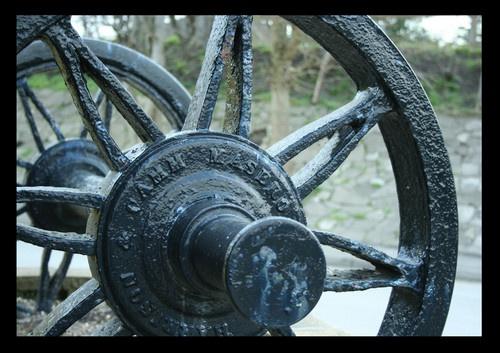 steam train axle/wheel by meadowman