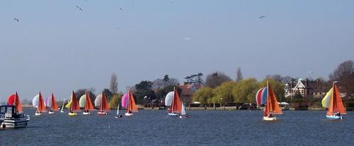 Sunday Sailing by jennywren
