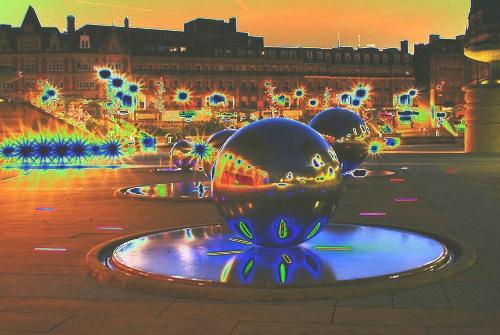 bright lights & marbles by iajacks