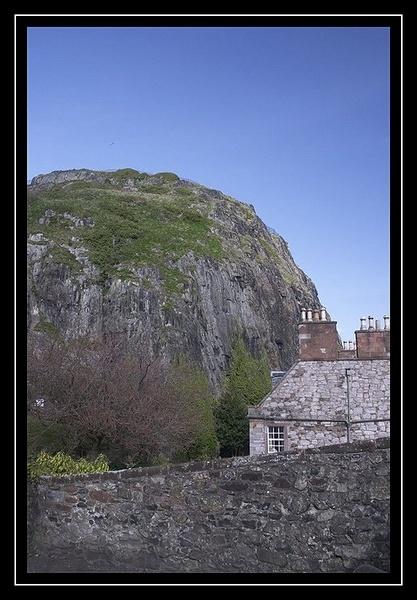 Dumbarton Rock by hudster