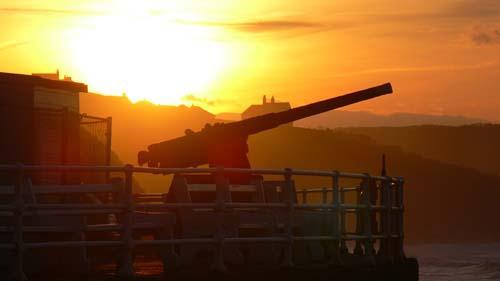 Evening Gun by alan a
