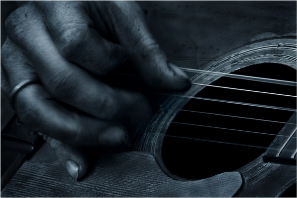 Guitarist by Anthony
