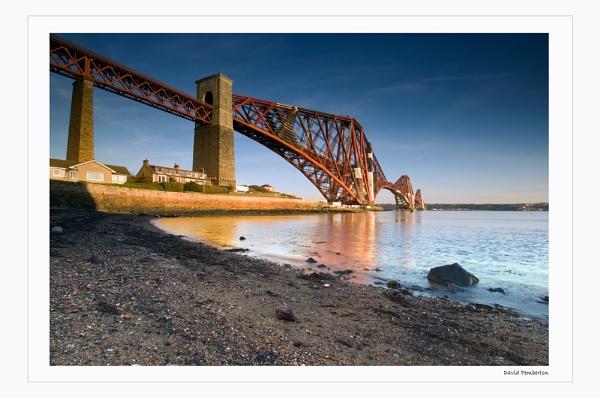Forth Rail Bridge by dpemberton