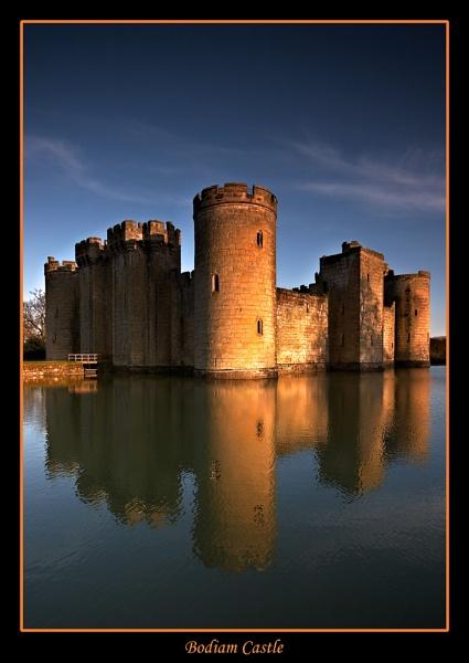 Bodiam Castle 2 by BRIGHTon_SPARK