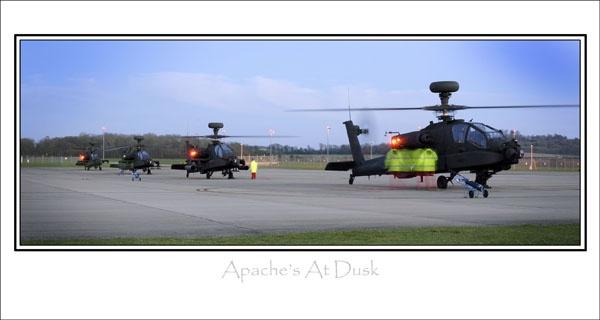 Apaches at Dusk by chrishalton