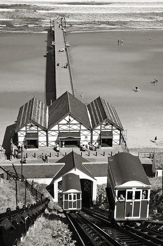 Saltburn Pier & Tram by snoops