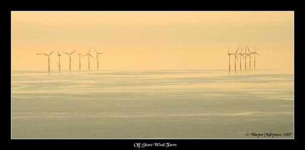 North Hoyle Windfarm by waymol
