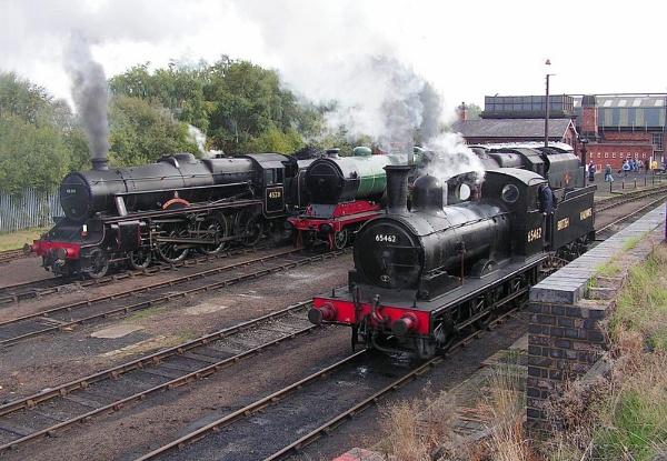 J15 at Barrow Hill by spikemoz
