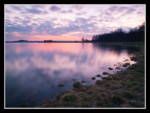 Rutland Water Evening by veggiesosage
