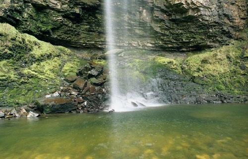 Henrhyd Falls Pool by BazB