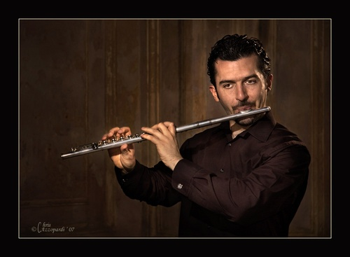 The Flutist by Ruggieru