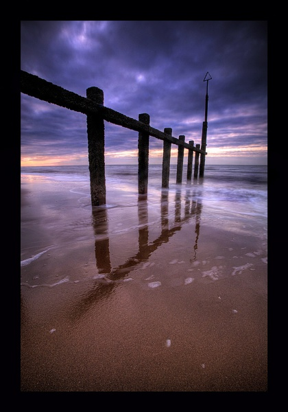 Rhyl Beach (HDR) by gndphotography