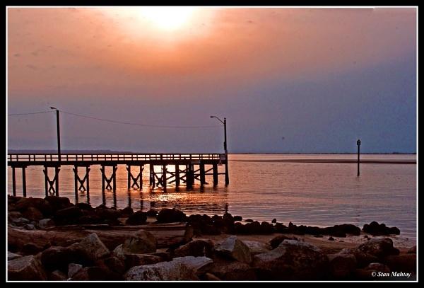 Pier Sunset by alpha788