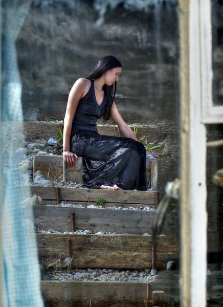 She waited by Eviscera