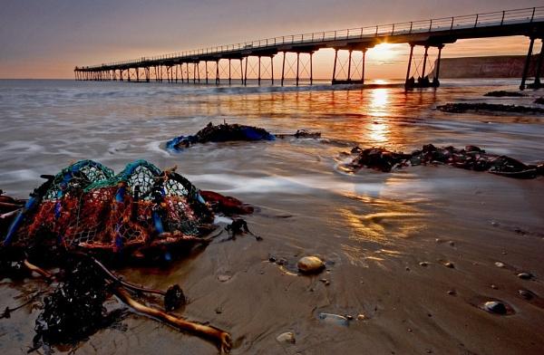 saltburn sunrise by MichaelAlex