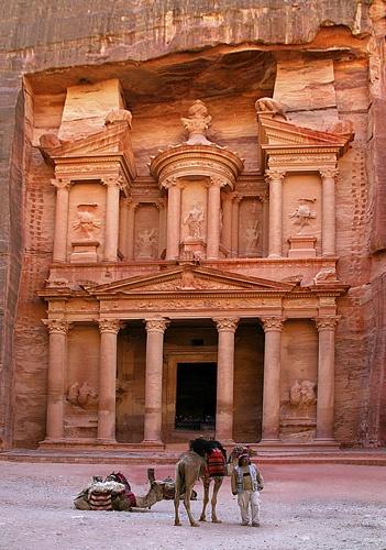 Treasury at Petra by StevenSmith