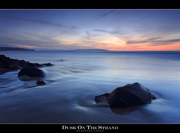 Dusk On The Strand by StevenHanna