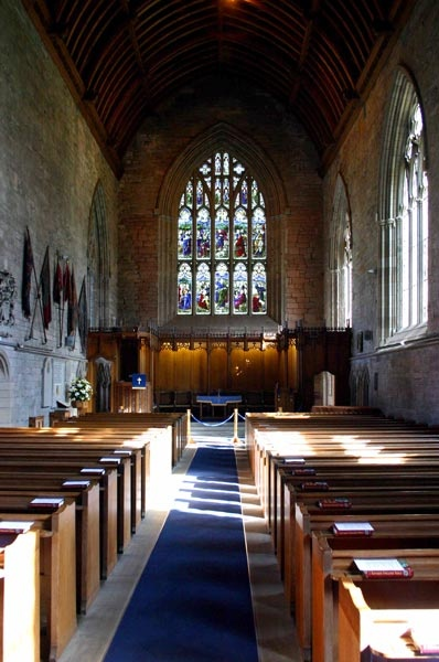 Dunkeld Cathedral, Perthshire. by romulus