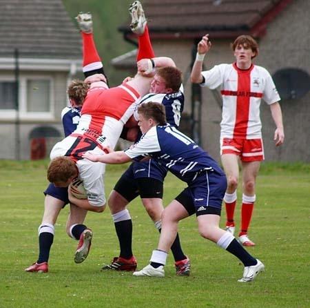 illegal tackle by ianpics