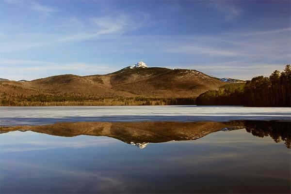 Mt Chocurua Icy Reflections by gmontambault