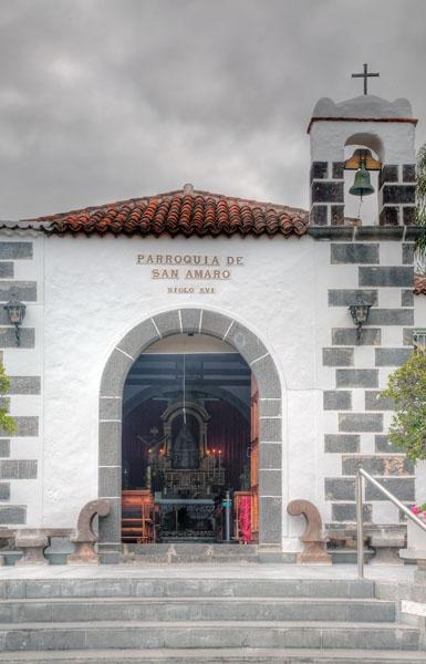 San Amaro Chapel, Puerto de la Cruz, Tenerife by MarcPK
