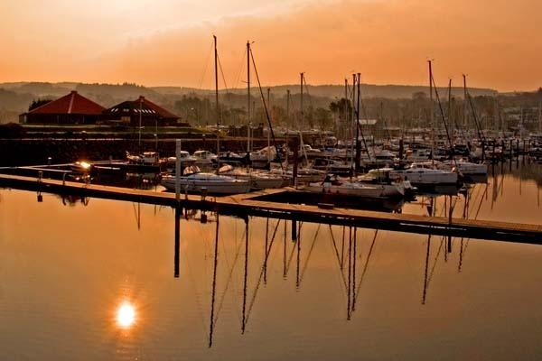 Marina Dawn by RosePhoto