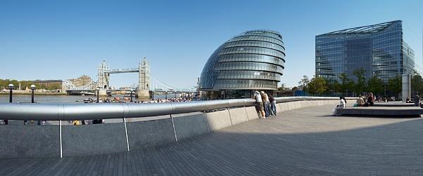 Tower Bridge Panoramic by mshepherd