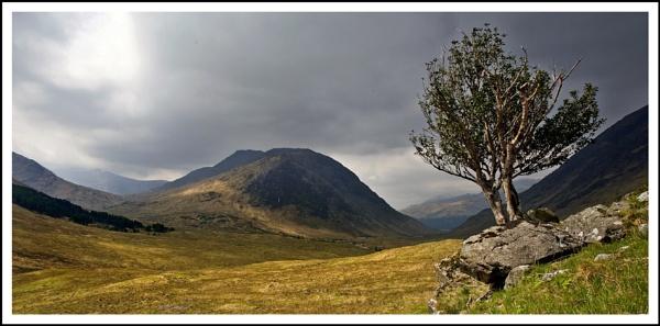 Glen Etive pano... by Scottishlandscapes