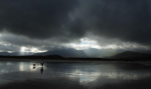 Stroll on the Beach by walterL