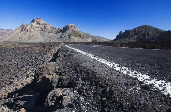 El Teide Lava Road by MarcPK