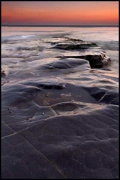 Kimmeridge Bay - Ledge by How1e