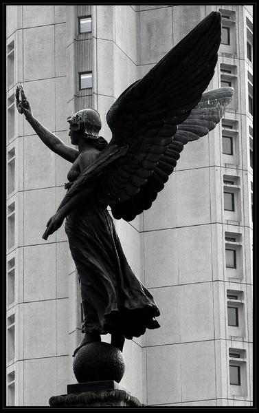 Urban Angel by Hughmondo