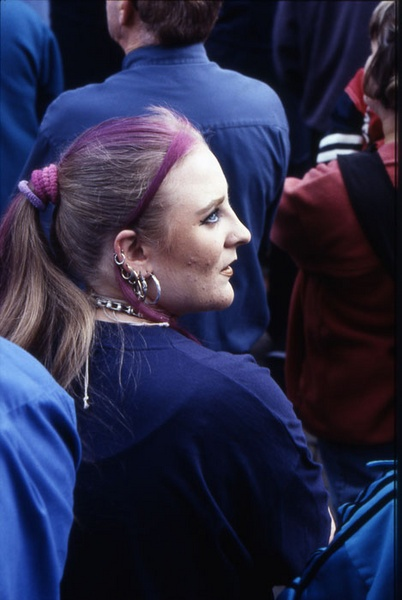 Profile in a Crowd by Humph