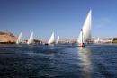 Aswan Nil river
