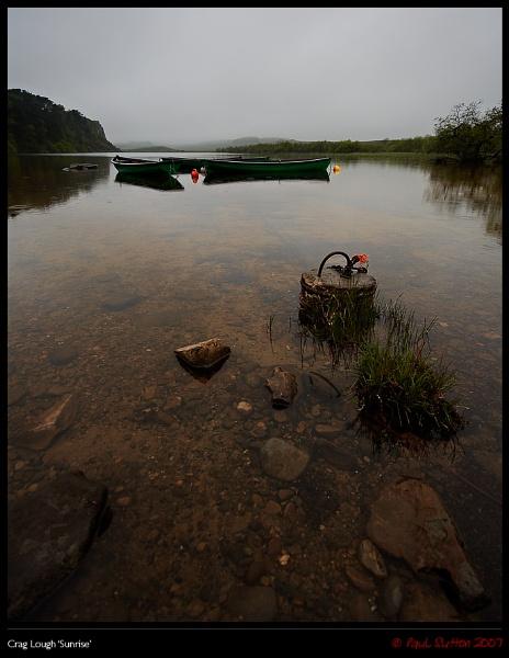 Crag Lough \'Sunrise\' by sut68