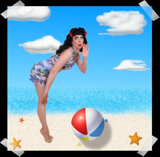 Beach Ball Betty by Fishnet