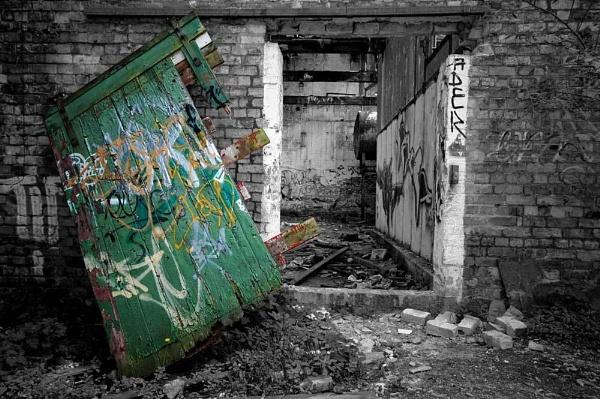 Green Door by AndyM