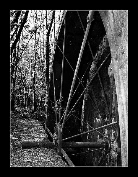 Galtee Castle Water Wheel 01 by Callanan