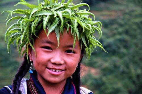 Tribe girl -  Vietnam by Benji